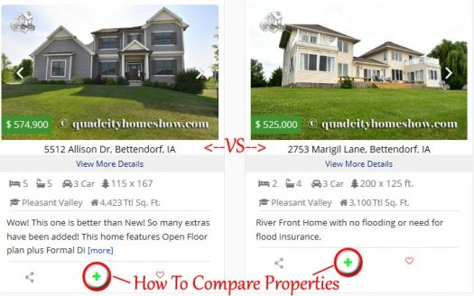 Comparing QC Fsbo Homes