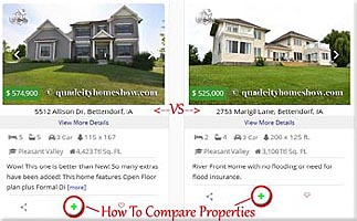 Compare Homes For Sale